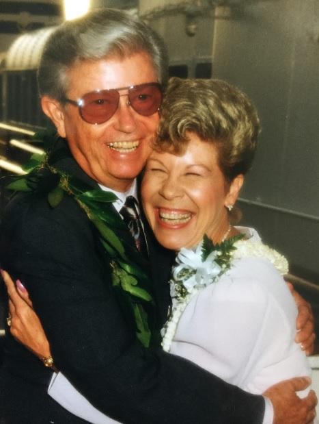 DAD AND NANCY - WEDDING B