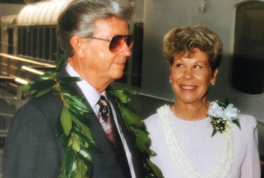DAD AND NANCY - WEDDING C