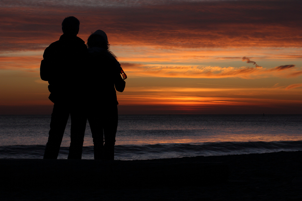 BEING WITH YOU IS THE BEST WAY TO WATCH A SUNSET - CRL