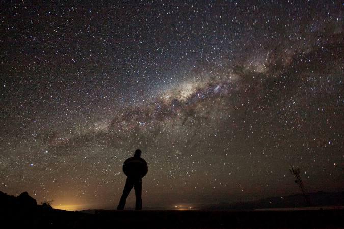 WATCHING STARS AT NIGHT
