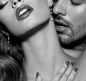 KISSES ON HER NECK