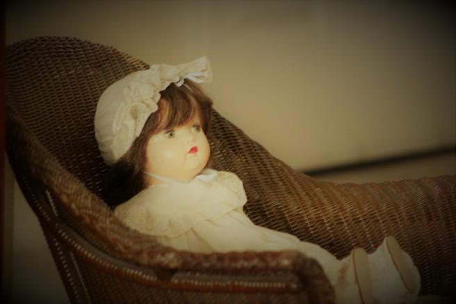 antique doll