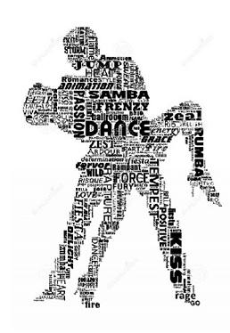 WORDS DANCING