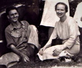 Hartzlerspicnic1944 Paul and Beatrice