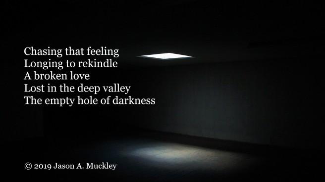 Peering Down Into the Darkest Depths (Gogyohka)
