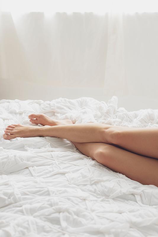 silky legs