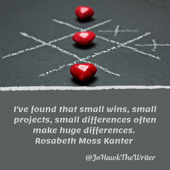 ive-found-that-small-wins-small-projects-small-differences-often-make-huge-differences.-rosabeth-moss-kanter
