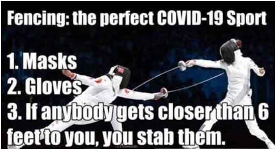 THE PERFECT COVID - 19 - SPORT