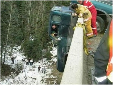 TRUCK OVER BRIDGE